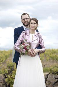 mariage Charline et Marc dans les vignes
