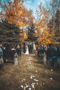 cérémonie laïque automne extérieur